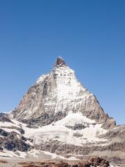 Zermatt, Bergdorf, Alpen, Berggipfel, Felswand, Schweiz