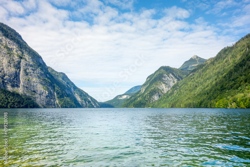 canvas print picture Koenigssee Berchtesgaden