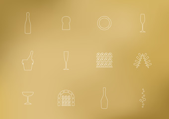 Pictos Champagne