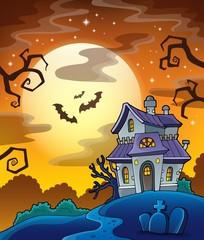 Haunted house theme image 8
