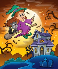 Haunted house theme image 9