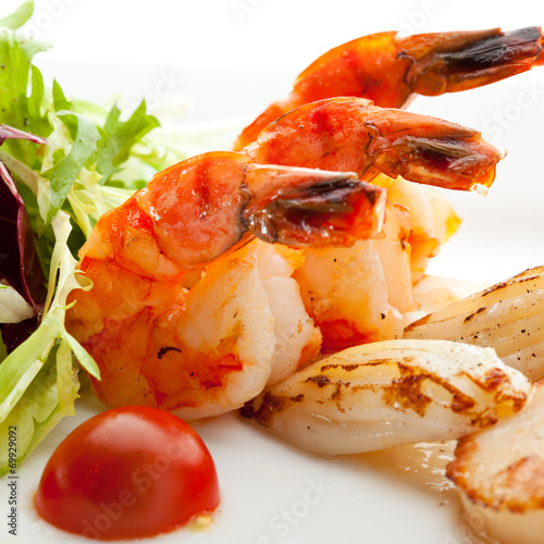 canvas print picture Seafoods