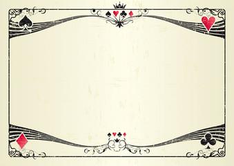 Horizontal grunge casino