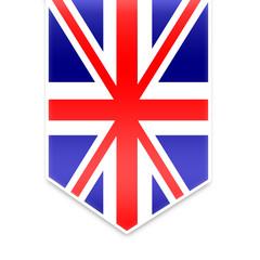 UK - England flag ribbon