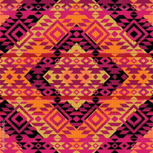 Ethnic ornamental pattern - 69929222