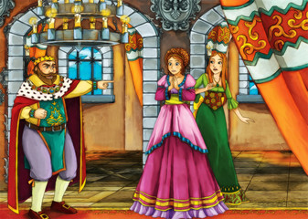 Fairy tale scene for different stories
