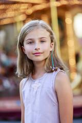 Portrait of lovely girl