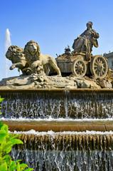 Cibeles Fountain in Madrid, Spain