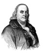 Portrait : Benjamin Franklin - 18th century