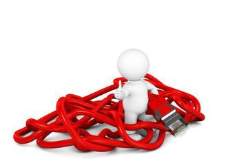 Admi rotes Kabel