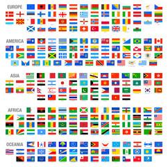 Vector World National Flags