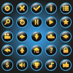 icon game button