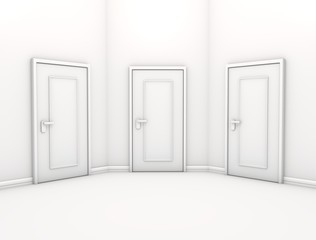 三つのドア