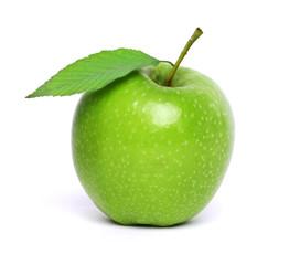 frischer grüner Apfel.