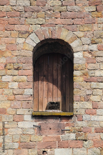 canvas print picture Fensternische