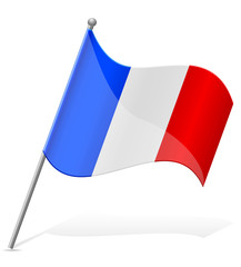 flag of France vector illustration