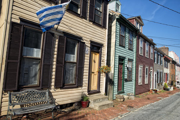 Annapolis Maryland historical houses