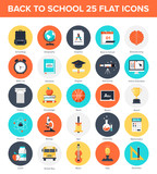Fototapety Education Icons