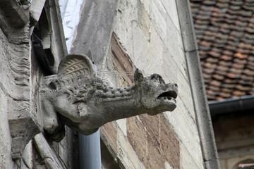 Wasserspeier am Braunschweiger Doms