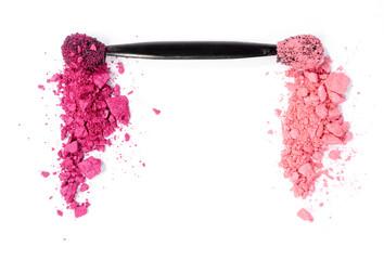 rosa und pinker Lidschatten