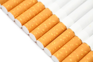 Filter tipped cigarettes