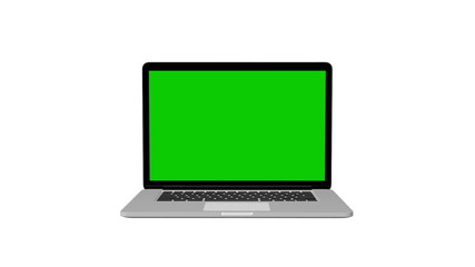 Notebook Animation With Green Screen
