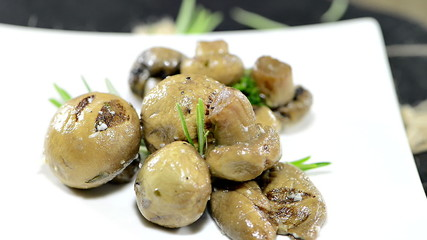 Mushrooms (not loopable antipasto)