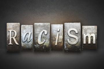Racism Theme Letterpress