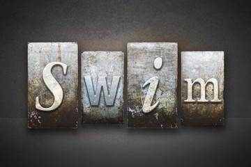 Swim Letterpress