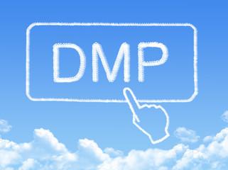 debt management plan message cloud shape