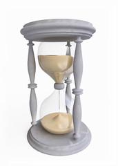 3D Hourglass in Retro Style