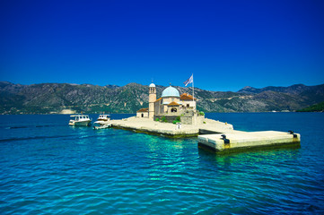 Virgin Island on the Reef, Kotor Bay, Montenegro