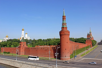 Beklemishevskaya Tower in the Kremlin
