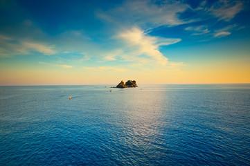Calm sea and blue  sky