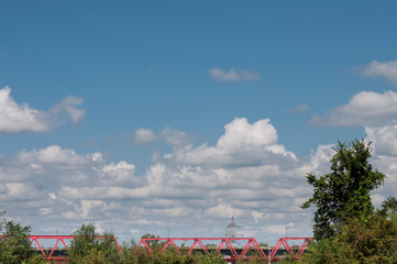 railway red bridge