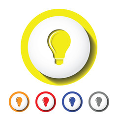bulb icon , lighter icon