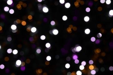 defocused lights background, bokeh