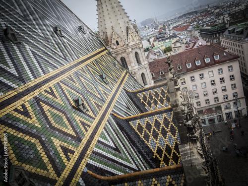 canvas print picture Stephansdom - Wien