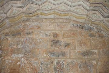 detail paintings inside San Salvador monastery