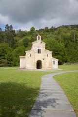 front of San Salvador Valdedios monastery