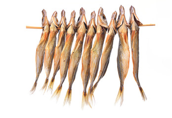 The dried jack mackerel