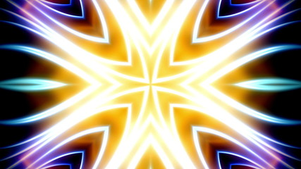 Multicolor X5 VJ Looping Abstract Animated Background