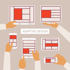 Vector concept of modern adaptive design