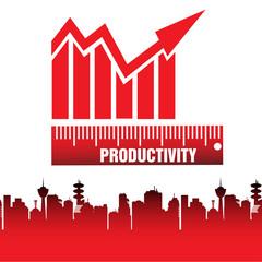 Productivity chart