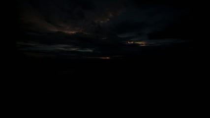 time lapse Sunrise sea and cloud