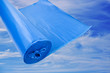 canvas print picture - Müllsackl Blau
