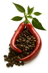 Peperoncini caffè Chili and coffee Chili und kaffee Expo 2015