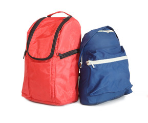 Two school backpacks.