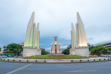Democracy monument Thailand.