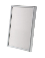 Empty whiteboard (empty frame) isolated on white